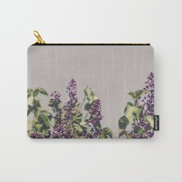 Wild Lilacs Carry-All Pouch