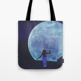 A Trip to the Moon Tote Bag