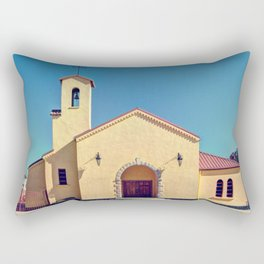 Catholic Church in Creel, Mexico Rectangular Pillow