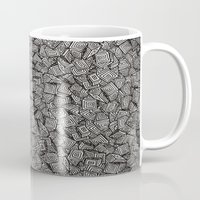 decal Mugs featuring Chaos!! by Alejandro Ayala