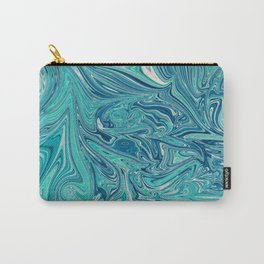 Persian Green Marble Carry-All Pouch