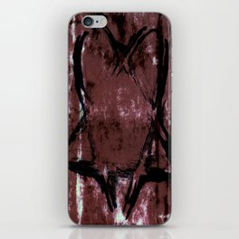 Skull N' Bones Flavor Heartagram iPhone Skin