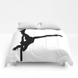 The Vertical Vixen Comforters