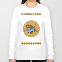 puppy Long Sleeve T-shirts featuring Puppy. by Ly Stilinski