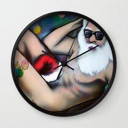 Sexy Santa Wall Clock