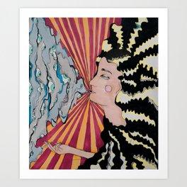 Facing Fear Art Print