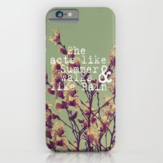 She Acts Like Summer iPhone 6s Slim Case