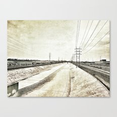 Los Angeles River Canvas Print