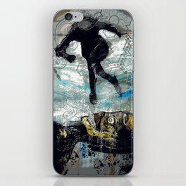 The Vector of Our Love iPhone Skin