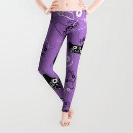Video Game Lavender Leggings