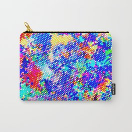 Colorful Halftone Carry-All Pouch