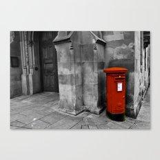 British Red PostBox Canvas Print