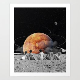 Venus Beach Art Print