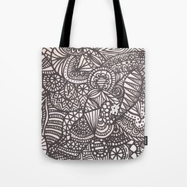 Doodle 10 Tote Bag
