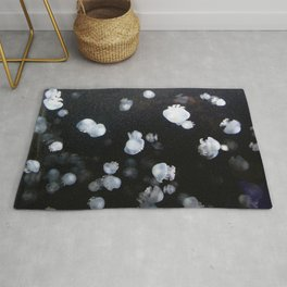 jellyfishes and ghosts Rug