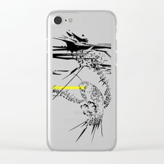 Holy Weapon // (Glitch Owl) Clear iPhone Case