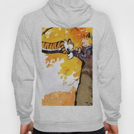 calvin and hobbes sleep Hoody