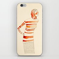 mom iPhone & iPod Skins featuring Mom by Danelys Sidron