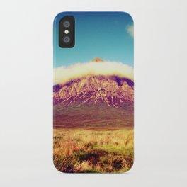 Buachaille Etive Mòr, scotland. iPhone Case