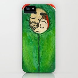 Sterek Sleeping Bag Burrito  iPhone Case