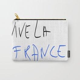 Vive la France ! - France, Français,française, French,romantic,love,gastronomy Carry-All Pouch
