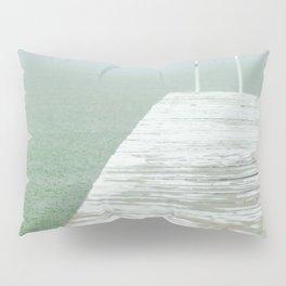 Mint Rain Pillow Sham