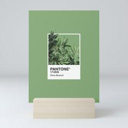 Pantone Series – Olive Branch Mini Art Print