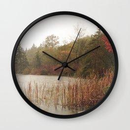 Deer Lake Decrescendo Wall Clock