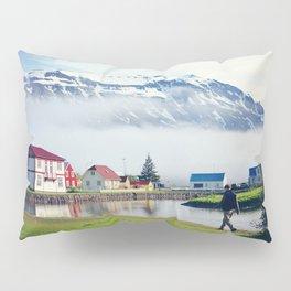 Seydisfjordur, Iceland Pillow Sham
