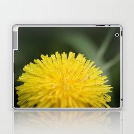 Yellow Pom Pom Flower Laptop & iPad Skin