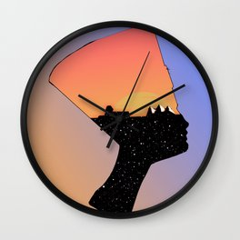 Neffy Wall Clock