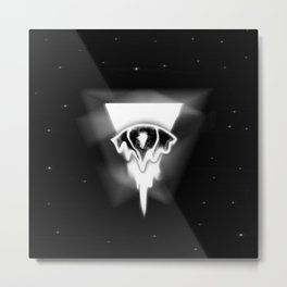 Melting eye Metal Print