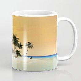 Island in the sunset Coffee Mug