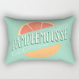 Pamplemousse (Grapefruit) Rectangular Pillow