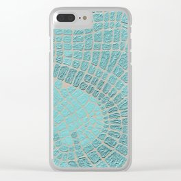 Caribbean Roads Clear iPhone Case