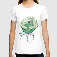 hulk T-shirts featuring Hulk by Crooked Octopus