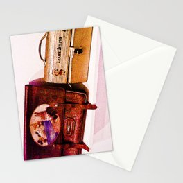 """""""The bag and lunchbox, a child!"""" Stationery Cards"""