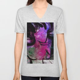 Breath Of The Goddess1D by Kathy Morton Stanion Unisex V-Neck