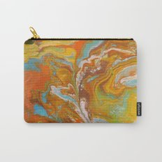 Orange Fizz Carry-All Pouch