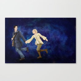 Off Into Time and Space Canvas Print