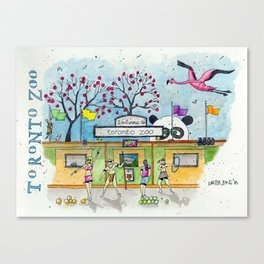 Toronto Zoo Canvas Print