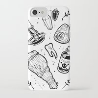 witchcraft iPhone & iPod Cases featuring WITCHCRAFT by Fokshe