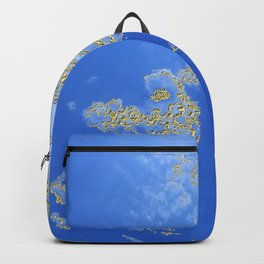 Orencyel : sky gazing before this golden melody Backpack