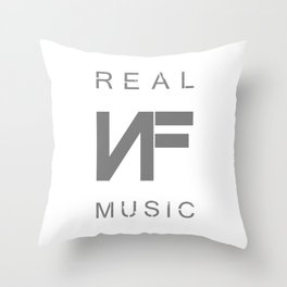 NF REAL MUSIC Throw Pillow