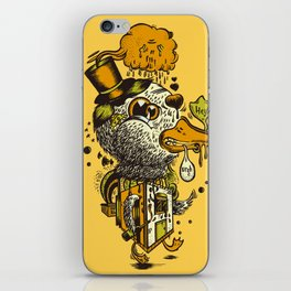 A Disorientated Duck Goes For A Stroll iPhone Skin