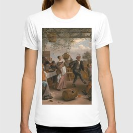 The Dancing Couple - Jan Steen T-shirt
