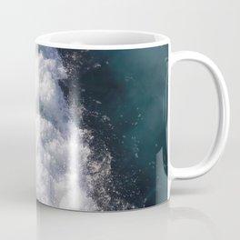 sea - midnight blue wave Coffee Mug