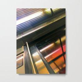 Le trom rtap ratp (métro Paris) Metal Print