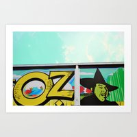 oz Art Prints featuring Oz by Bella Blue Photography