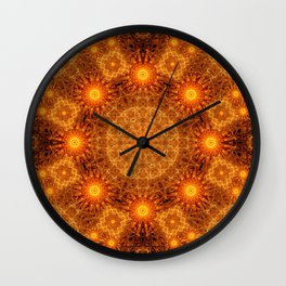 The Divine Matrix Mandala Wall Clock
